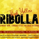 Ribolla - Think Yellow - SOLD OUT