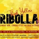 Ribolla - Think Yellow - REPLICA